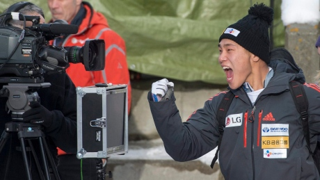 Yun Sung-bin picks up 2nd World Cup victory in skeleton opener
