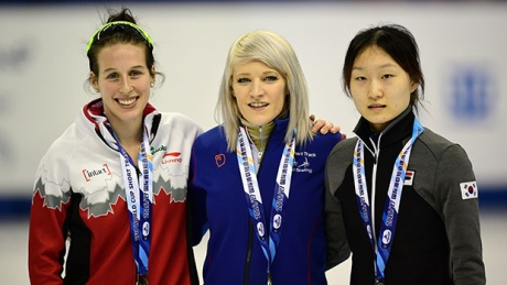 Marianne St-Gelais adds to her medal tally in World Cup short track