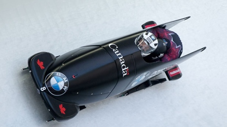 Canadians crowd podium in 2-man bobsleigh World Cup