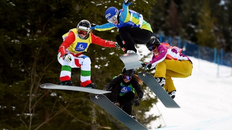 Snowboarding World Cup: Snowboard cross from Solitude