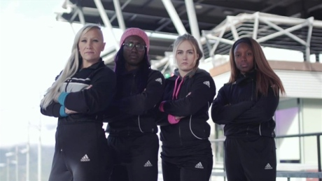 Kaillie Humphries training 4-woman bobsleigh crew in name of equality