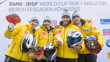 Lochner continues bobsleigh dominance with 4-man win