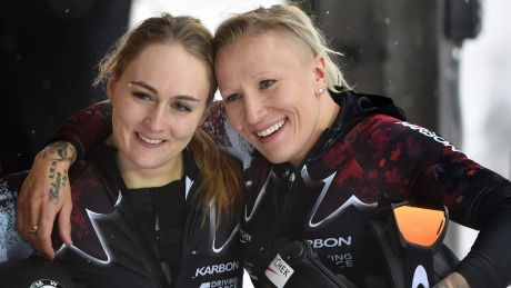 Humphries, Lotholz earn bobsleigh silver in Austria