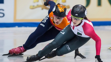 Marianne St-Gelais wins 2nd short-track gold in as many days
