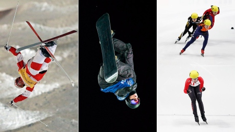 Olympic sports roundup: Canadians skate, soar to gold
