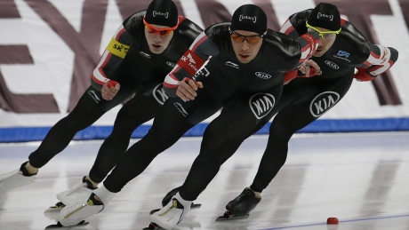 Canada still medal-less at speed skating worlds