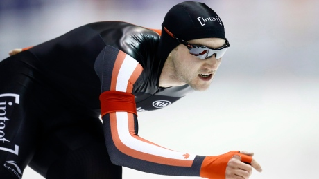 Olivier Jean earns 1st mass start medal at speed skating single distance worlds