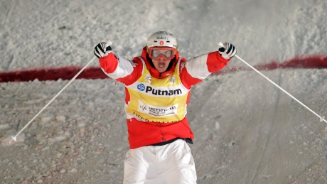 Mikael Kingsbury soars to dual moguls gold in Japan
