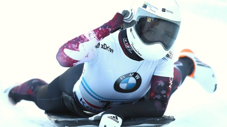 Mirela Rahneva using her inner Ronda Rousey to star on skeleton track