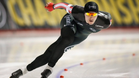Canadian men clinch World Cup speed skating title in team sprint
