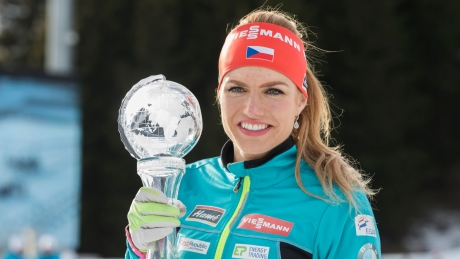 Gabriela Koukalova edges overall champion to claim biathlon sprint title