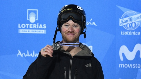 Canada's Mike Riddle wins halfpipe silver at worlds