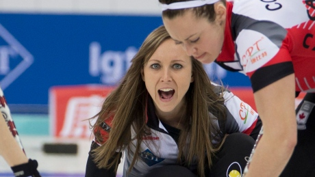 Canada's Homan stays perfect at curling worlds