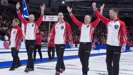 Brad Gushue ready to lead Canada at world men's curling championship