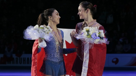 Kaetlyn Osmond, Gabrielle Daleman make history at figure skating worlds