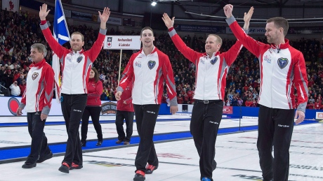 Gushue's rink overcomes expectations, injuries to reach worlds