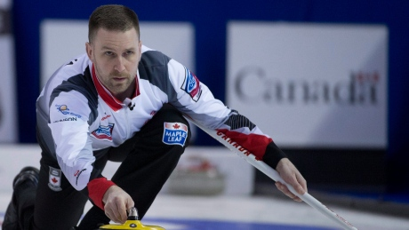 Brad Gushue adds 2 more wins to stay perfect at curling worlds