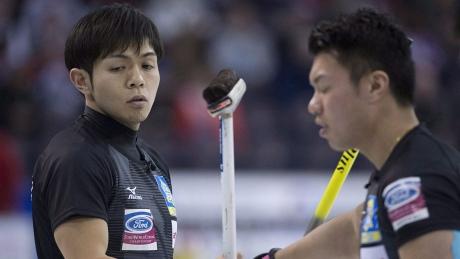Curling is big in Japan