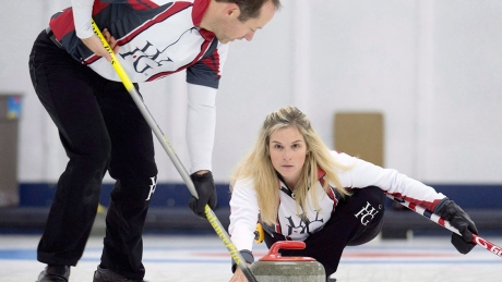 Mixed doubles curling, explained
