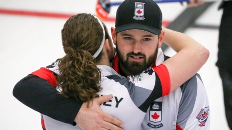 Canada clinches playoff berth at mixed doubles curling worlds