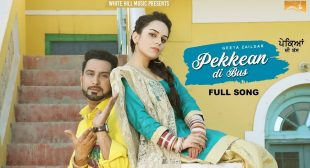 Geeta Zaildar Song Pekkean Di Bus is Out Now