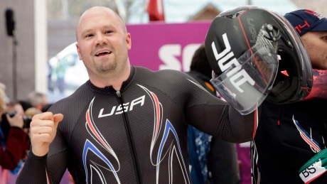 U.S. bobsleigh star Steven Holcomb may have died from pulmonary congestion