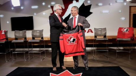 Who will be shooting for Canadian men's hockey gold?