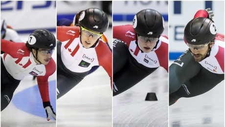 Charles Hamelin to lead veteran Canadian Olympic short track team