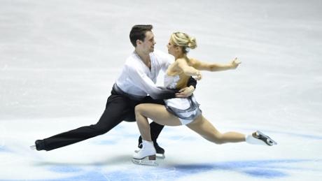 Moore-Towers, Marinaro take gold at international figure skating classic