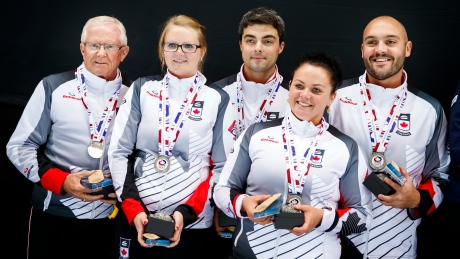 Canada loses to Scotland, takes silver at world mixed curling championship
