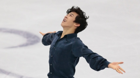 Nathan Chen holds off Yuzuru Hanyu at Rostelecom Cup