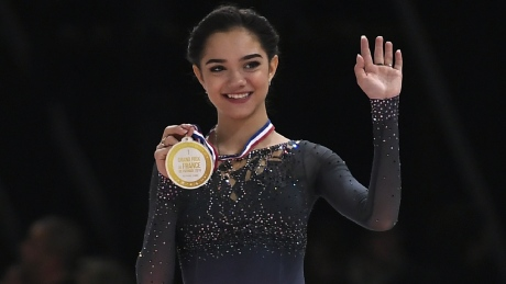 'Bugs in her head' fuel Evgenia Medvedeva's figure skating success