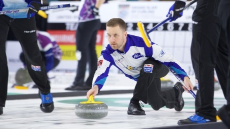 Brad Gushue continues strong play at curling Masters