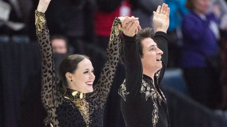 Virtue and Moir impeccable, set another world-record winning gold at Skate Canada