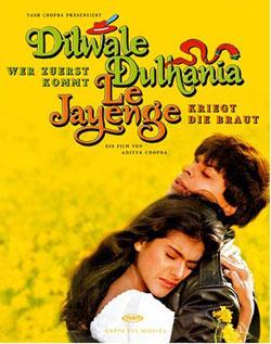 Mere Khwabon Mein Jo Aaye Lyrics – Dilwale Dulhania Le Jayenge