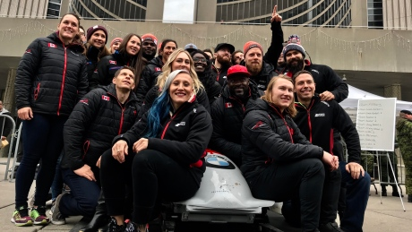 Bobsleigh's Humphries would welcome reunion with Olympic partner Moyse