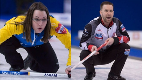 Canadian Olympic mixed doubles curling trials coming to CBC Sports