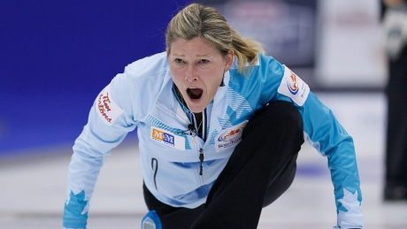 Veteran skip Sherry Middaugh starts strong at Olympic pre-trials