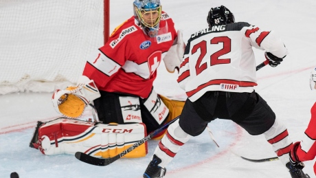 Canadians edge Swiss in opener of pre-Olympic hockey tournament