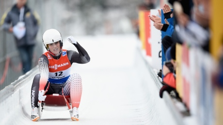 Canadians win team relay silver at luge World Cup