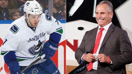 Vey, Desjardins come full circle with Canadian Olympic hockey team