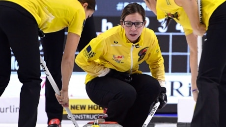 Krista McCarville works to maintain balance while chasing her Olympic dream