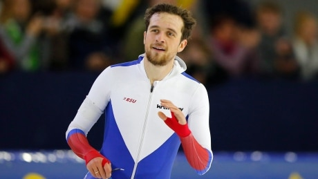 Russia's Yuskov makes history at speed skating World Cup