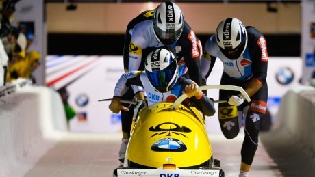 German sweep keeps Canada off 4-man bobsleigh podium