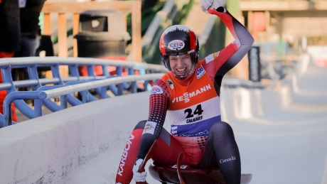 Alex Gough hauls in 2 silver medals at luge World Cup