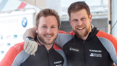 Canadians Kripps, Lumsden snag silver at bobsleigh World Cup