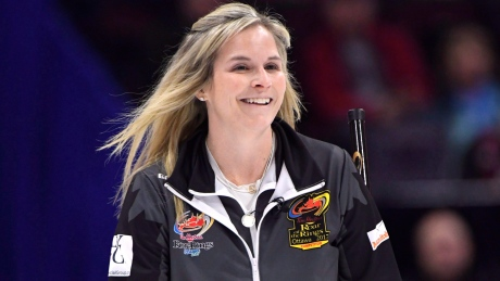 Jones, Nichols open mixed doubles Olympic curling trials with convincing win