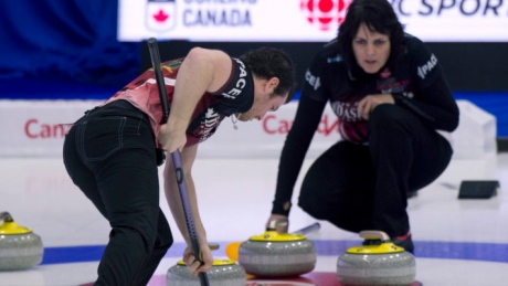 Martin, Schneider post comeback win at mixed doubles Olympic curling trials