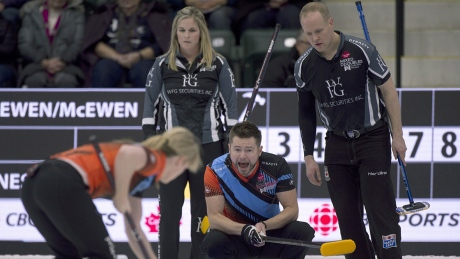 Mixed doubles curling is the future of the Olympics