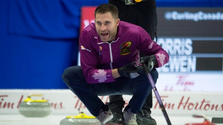 Kaitlyn Lawes, John Morris ease into mixed doubles curling trials final
